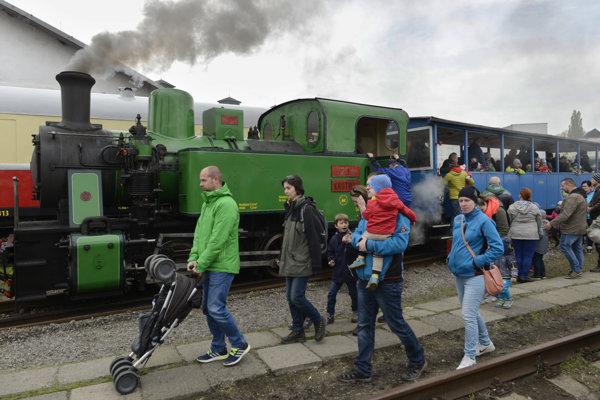 Na snímke parný rušeň Krutwig ČKD 900 BS 200, prevádzkovateľ Detská železnica Košice.