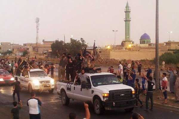 Mosul ešte v období, keď ho obsadil Islamský štát.