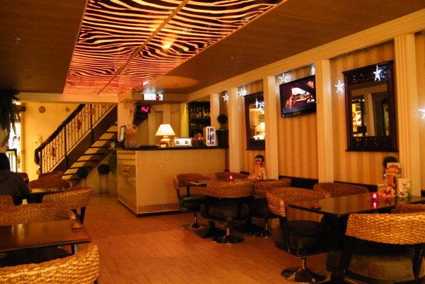 People cafe Light v OC Galéria v Košiciach.