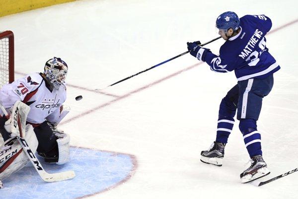 Útočník Toronta Maple Leafs Auston Matthews.