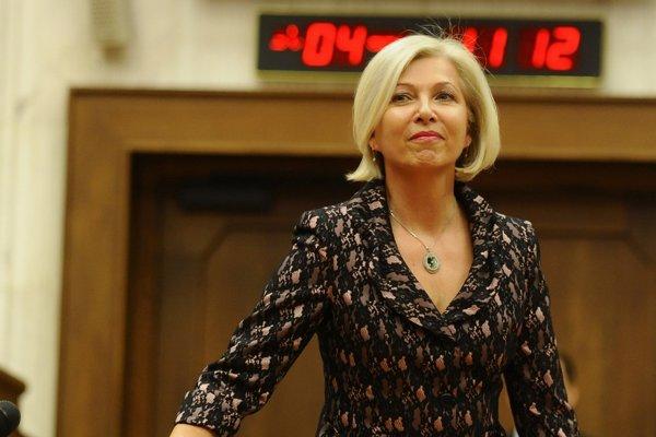 Bývalá poslankyňa Smeru Anna Vitteková v rámci svojej novej funkcie cestuje aj do Pekingu.