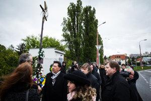 Smútočná slávnosť na spomienku Róberta Remiáša.