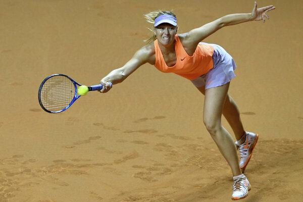 Maria Šarapovová v Stuttgarte do finále nedošla.
