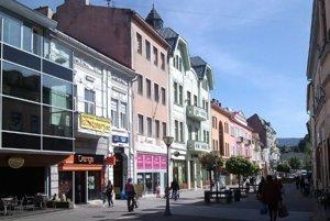 Ružomberok, Mostová ulica.