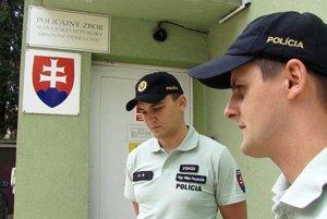 Hriňovskí policajti.