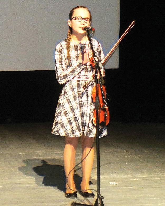 Orava má talent napokon vyhrala Lenka Ratulovská.
