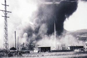 Bombardovanie v Dubovej.