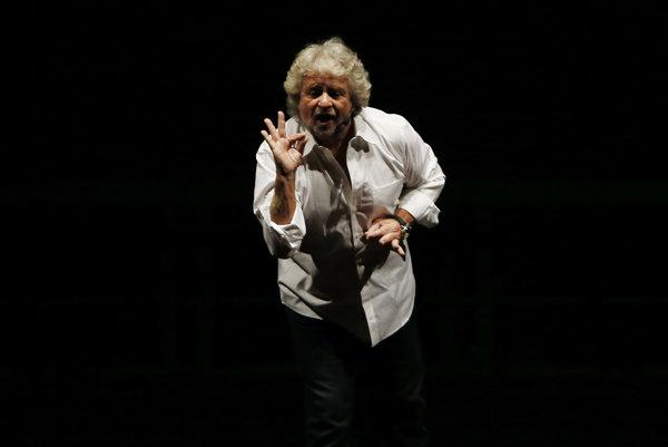 Beppe Grillo, líder Hnutia piatich hviezd, vystupoval proti očkovaniu.