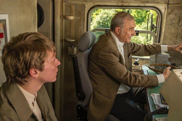 Srbskí železničiari vo filme Denník rušňovodiča.