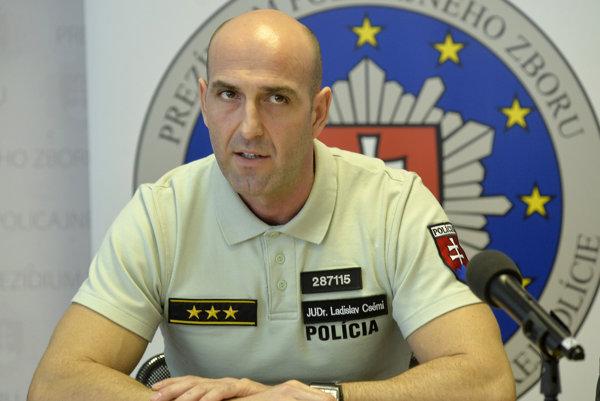 Riaditeľ Úradu hraničnej a cudzineckej polície (ÚHCP) Ladislav Csémi.