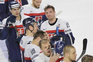 Slovenskí hokejisti si pripísali tretiu prehru na šampionáte.