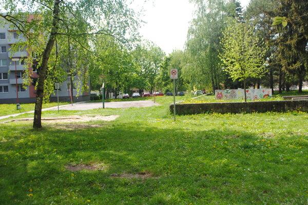 Odstránené ihrisko na Bottovej ulici v Senici FOTO: DP
