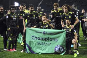 Futbalisti FC Chelsea si v piatok zabezpečili celkové prvenstvo v najvyššej anglickej súťaži 2016/2017.