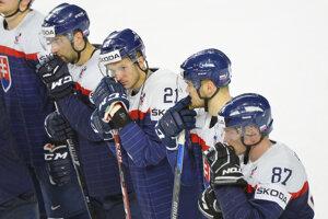Hokejisti Slovenska prehrali na MS už piaty zápas za sebou.