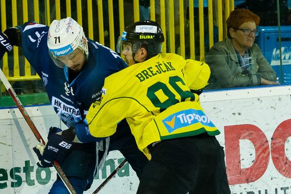 V uplynulej sezóne hájil Brejčák farby Žiliny.