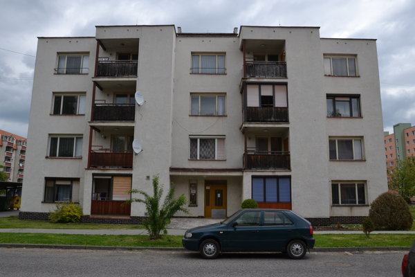 Bytovka pre zdravotne postihnutých v Lučenci.