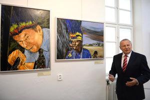 Výstava o cestách Rudolfa Schustera.