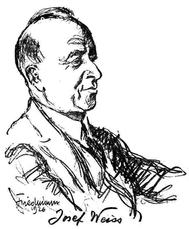 Fenomenálny klavirista Josef Weiss si svojou hnevlivou povahou často vyrábal nepriateľov.