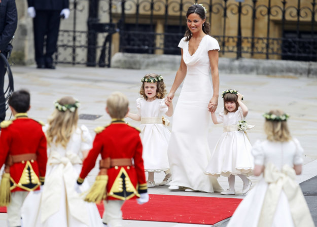 Pippa Middleton na svadbe svojej sestry Kate