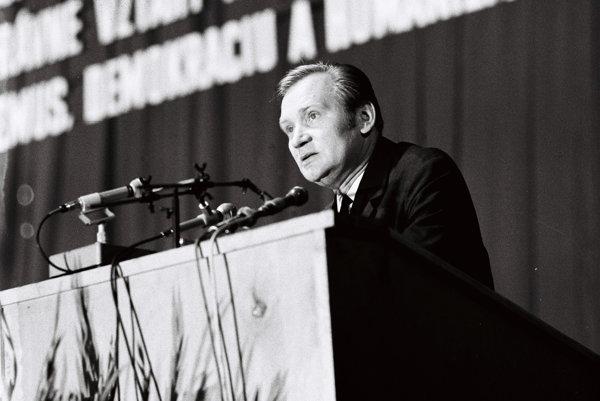 Ladislav Košťa na archívnej snímke z 28. augusta 1968.