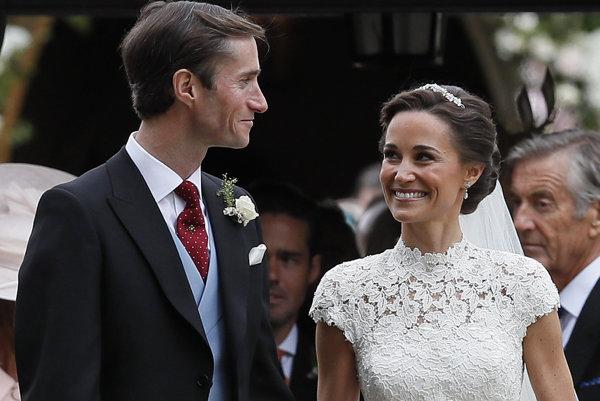 Pippa Middleton si vzala JamesaMatthewsa