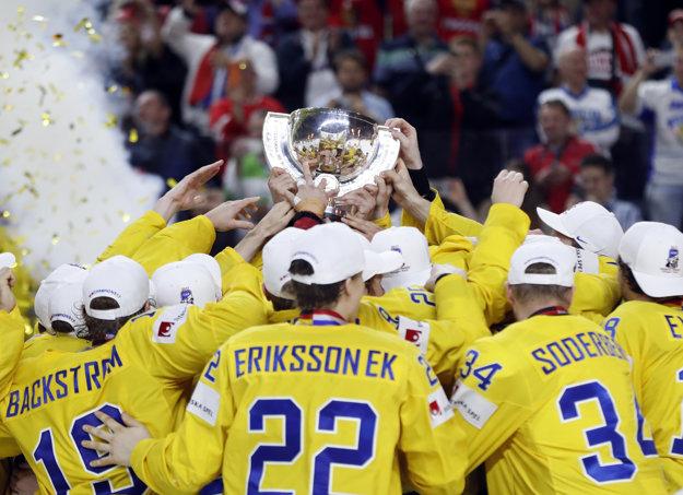 Titul na MS v hokeji 2018 obhajujú Švédi.