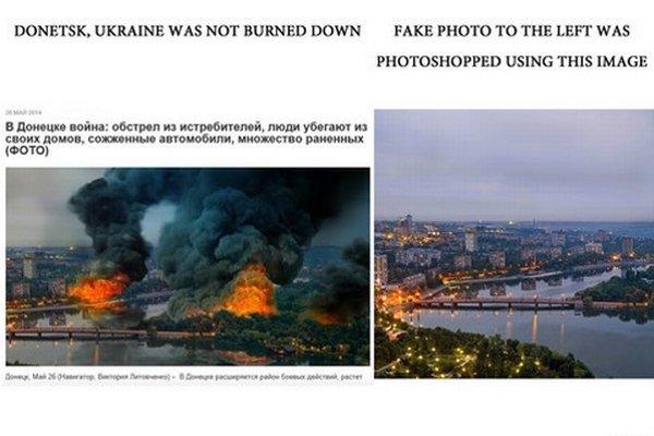 Manipulácie sa vyskytujú aj na fotografiách.