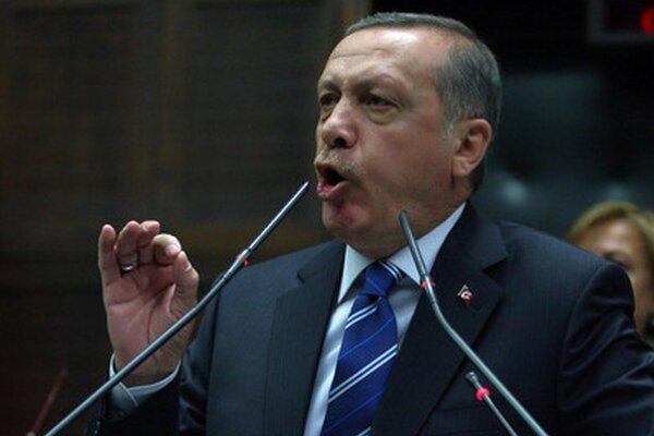 Turecký premiér Recep Erdogan.