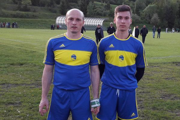 Peter Barčák (vľavo) so svojím synom Andrejom.