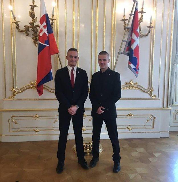 Ocenenie získal Jakub (vľavo) spolu s Martinom.