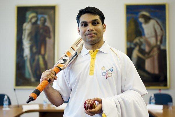 Člen kriketového tímu.