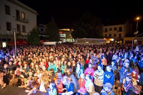 Piešťanský CityFest je lákadlom pre ľudí nielen z mesta ale aj okolia.