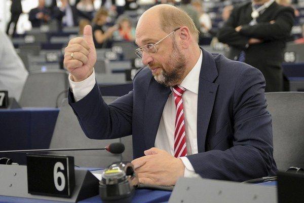 Europoslanec Martin Schulz.