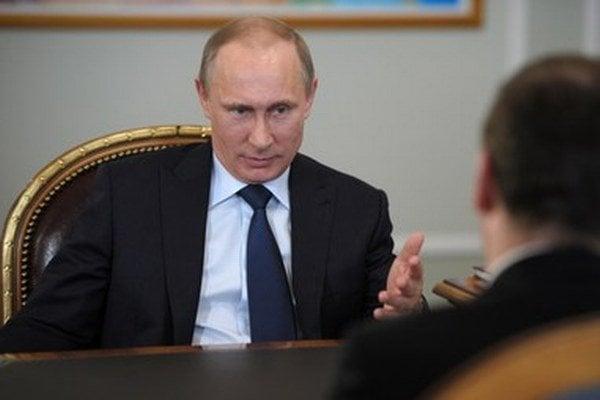 Na majdane sa vidí ako ochranca ruského národa.