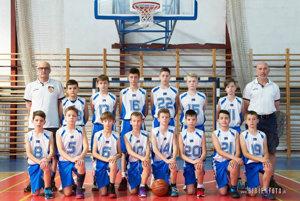 Starší minibasketbalisti BKM SPU Nitra obhájili titul majstrov SR.