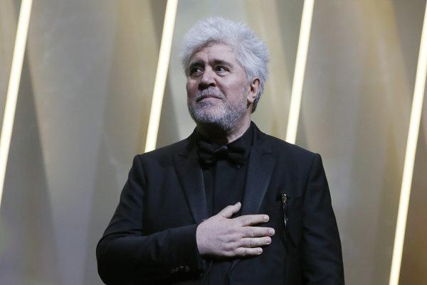 Španielsky režisér Pedro Almodóvar, predseda poroty.