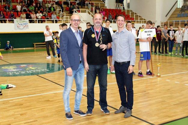 Zľava: Marek Bulík, Ján Dlábik, Ján Závodný.