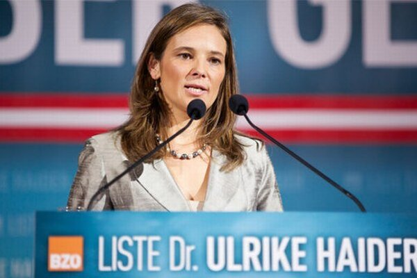 Úspešná právnička Ulrike Haiderová (37).