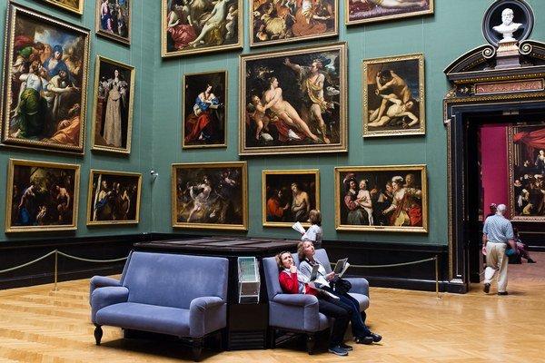 Umeleckohistorické múzeum vo Viedni.