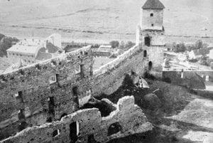 Trenčiansky hrad. (1929)