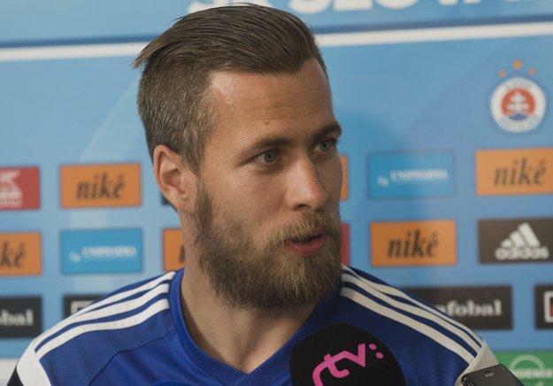 Na zraze ale nechýbal útočník Jakub Mareš, ktorý sa po prestupe z MFK Ružomberok stal prvou predsezónnou akvizíciou Slovana.