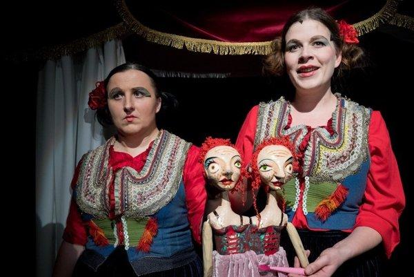 Divadlo Polárka odohralo na festivale predstavenie Cirkus Unikum.