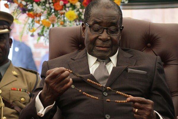 Robert Mugabe.