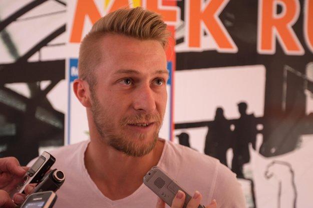 Stredopoliar Martin Nagy sa prišiel rozlúčiť s bývalými spoluhráčmi, pretože jeho novým pôsobiskom sa stal maďarský ETO FC Győr.