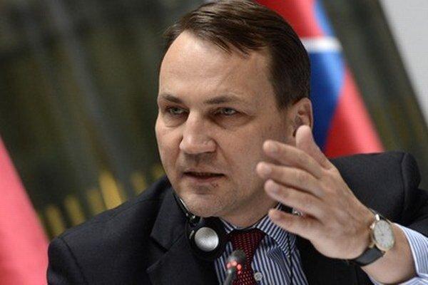Šéf poľskej diplomacie Radoslaw Sikorski.