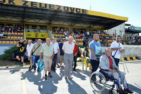 V Želiezovciach počas uplynulého víkendu oslavovali storočnicu futbalu v meste.