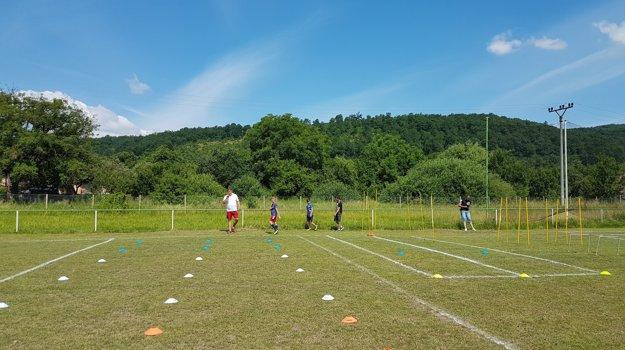 Pre deti boli pripravené rôzne športové hry.