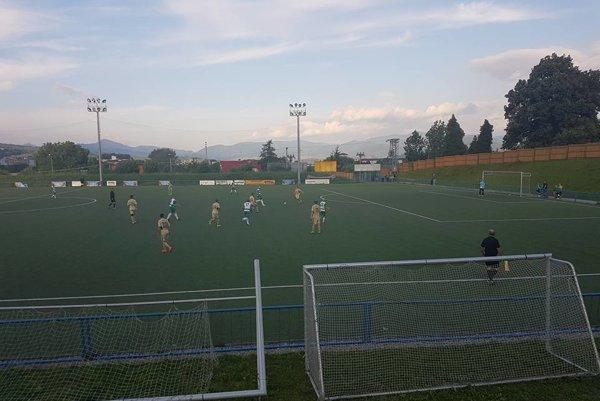 Zo zápasu Vrútky - L. Sliače. Foto: Jozef Dvorský