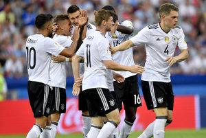 Nemci postúpili zo skupiny z prvého miesta.