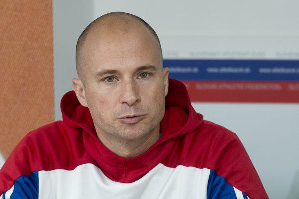 Šéftréner Slovenského atletického zväzu Martin Pupiš.